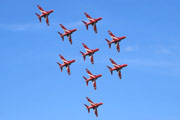 "The Red Arrows: ""Kite To Apollo Loop"""