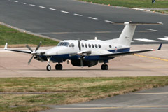 King Air 350CER Avenger T1 s/n ZZ501