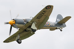 Hawker Sea Fury T.20 s/n G-RNHF