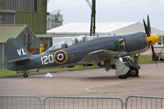 Hawker Sea Fury T.20 G-RNHF
