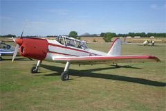 De Havilland DHC-1 Chipmunk 22A G-AORW